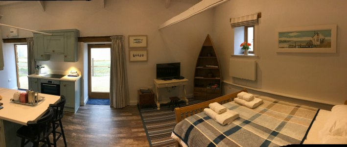 Mortehoe Barn Interior Living Space 2